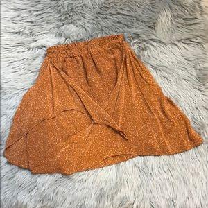 Zara Cover Up mini Floral Skirt